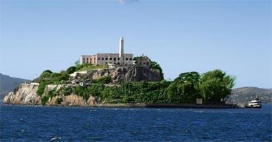 »Alcatraz in der Bucht von San Francisco, Kalifornien«