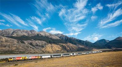 »Reise durch Neuseeland - komfortabel mit der Bahn«
