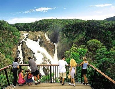 »Spektakuläres Australien: Barron Falls Lookout«