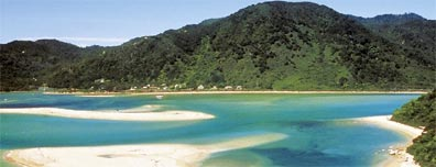 » Bed & Breakfast Neuseeland Reise: Abel Tasman Nationalpark «