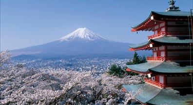 »Best of Japan: Blick auf die Chureito-Pagode und Fuji«