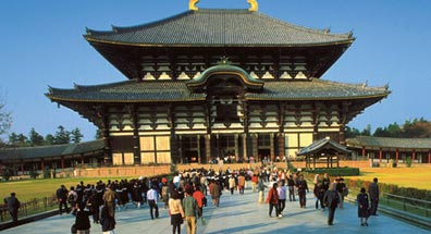 »Todai-ji, der buddhistische Todaiji-Tempel, Nara«