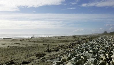 » Rundreise Best of New Zealand: Strand von Hokitika «