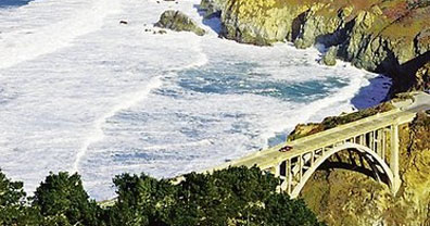 » Big Sur, Monterey - Wings above America's National Parks «