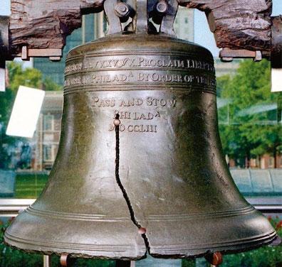 »Bilderbogen des Ostens: Liberty Bell, Philadelphia«