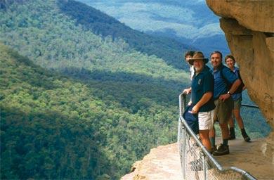 »Ostküste zum Verweilen: Bergwelt der Blue Mountains«