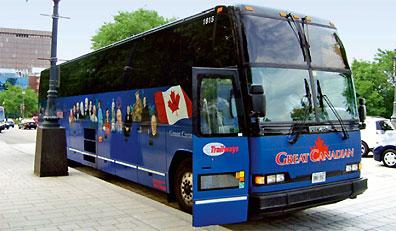 »Busreise quer durch Kanada: Trans Canada Highway«