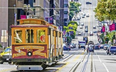 »Ein absolutes Muss: Fahrt mit der Cable Car in San Francisco«