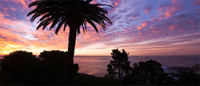 »Sonnenuntergang Cape Town Lodge Kapstadt ****«