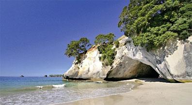 »Neuseeland für Wanderfreunde: Cathedral Cove«