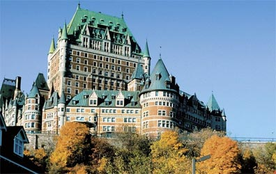 »Rundreise Kanada: Château Frontenac, Québec City«