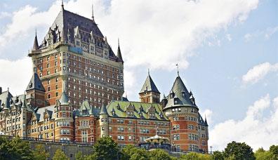 »Chateau Frontenac, Quèbec City - Mietwagenreise Ostkanada«