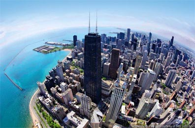 » Chicago (Illinois) - die Metropole direkt am Lake Michigan «