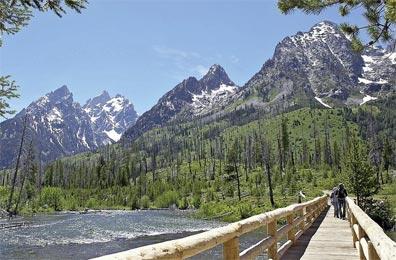 »Durch die Rockies zum Pazifik: Grand Teton Nationalpark«