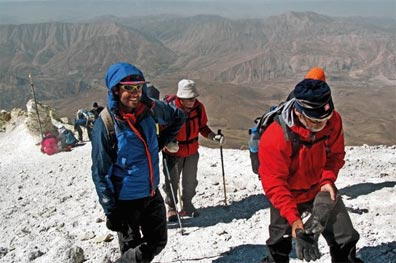 »9 Tage Expeditionsreise zum höchsten Vulkan Persiens«