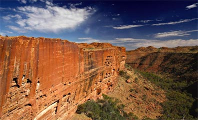 » Der faszinierende Kings Canyon - Australien Rundreise «