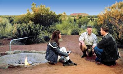 »Uluru Desert Awakening«