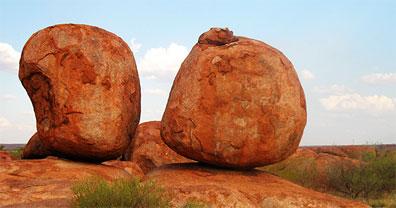 »Australien Devils Marbles - Akzente Australiens«