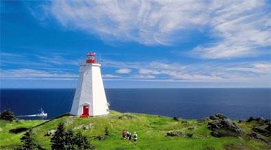 »Die Atlantikküste Kanadas: Atlantikküste Novo Scotias«