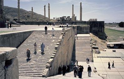 »Höhepunkte der historischen Route: Persepolis«