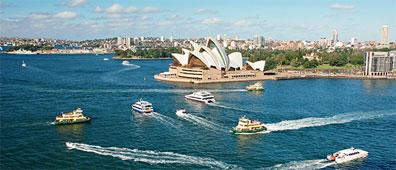 »G´Day Australia: Sydney zu Land und zu Wasser«