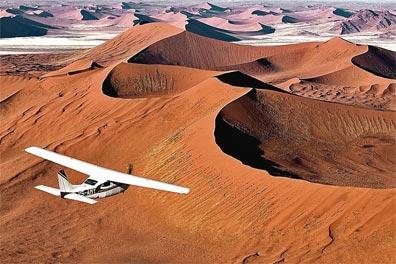 »Namibias Schätze - Exklusive Flugsafari Namibia«