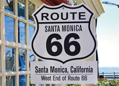 »Legendäre Route 66  - Reise ab Chicago / bis Los Angeles«