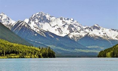 »Höhepunkte Westkanadas: Duffey Lake Provincial Park«