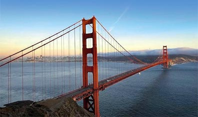 » Erlebnis Westen: Golden Gate Bridge, San Francisco «