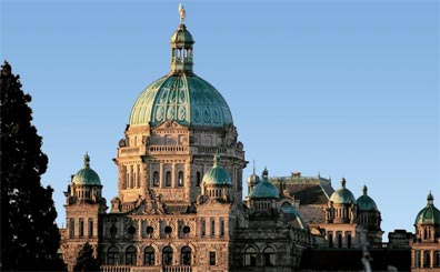 »Erlebnis Westkanada: Victoria, Parlamentsgebäude«