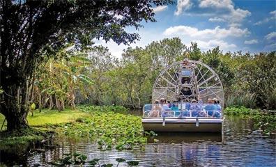 »Florida Sunshine State Rundreise: Fahrt durch die Everglades«