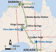 »Explorers Way - Australien Natur- und Erlebnisrundreise«