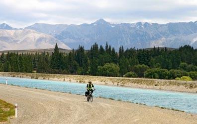 »Rangi - Paradiesische Fahrradtour 19 Tage Neuseeland«