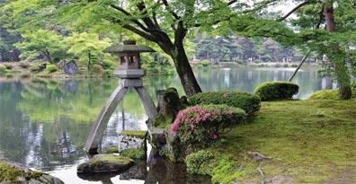 »Faszination Japan: Kenrokuen Garten«