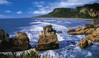 »Reise nach Neuseeland: Pfannkuchenfelsen von Punakaiki«