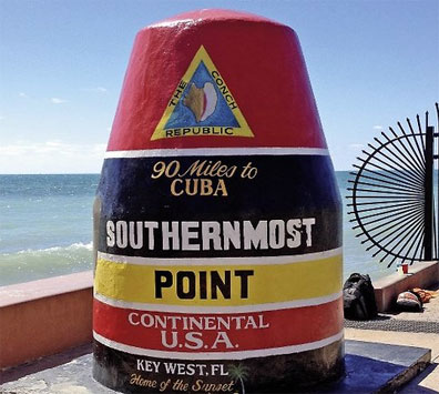 »Reise nach Key West: Florida Sunshine State mit Beach & Fun«
