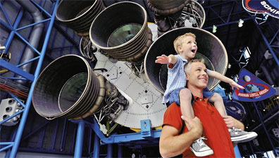 »Kennedy Space Center - Florida Family Fun in the Sun«