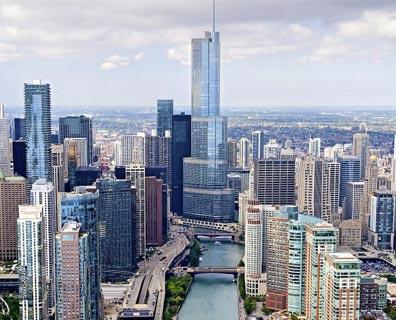 »Flug und Mietwagen USA Chicago / Illinois«