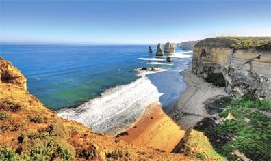 »Spektakuläres Australien: Great Ocean Road - 12 Apostel«