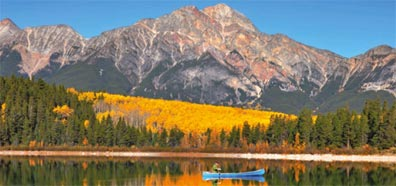 »Great Parks of the West: Patricia Lake, Jasper Nationalpark«