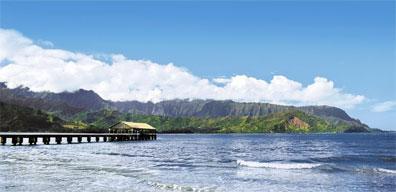 »Mietwagenreise Hawaii für Abenteurer: Hanalei Bucht, Kauai«