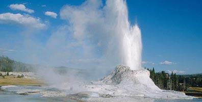 »Steppen, Vulkangebiete, heiße Quellen und Geysire«