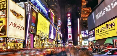 »Highlights der Ostküste: Times Square, New York«