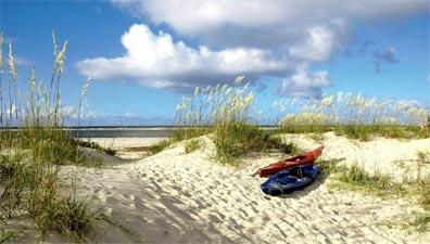 »Historischer Süden: Strand in South Carolina«