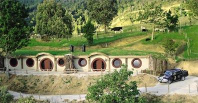 »Reise nach Neuseeland: Übernachten Sie in einem Hobbit-Motel«