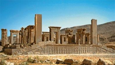 »Persepolis, Tachara, der Wohnpalast des Darius«