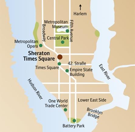 »Sehenswürdigkeiten New York - Städtereise New York«