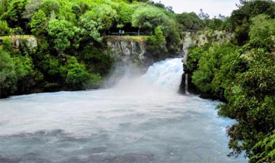 »Spektakuläres Neuseeland: Huka Falls«