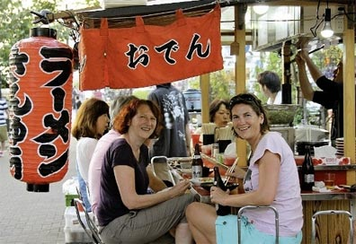 »Japan auf eigene Faust: Imbiss-Stand Yatai, Fukuoka«