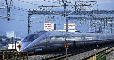 »Japan Reisen - Zugfahrt nach Osaka«